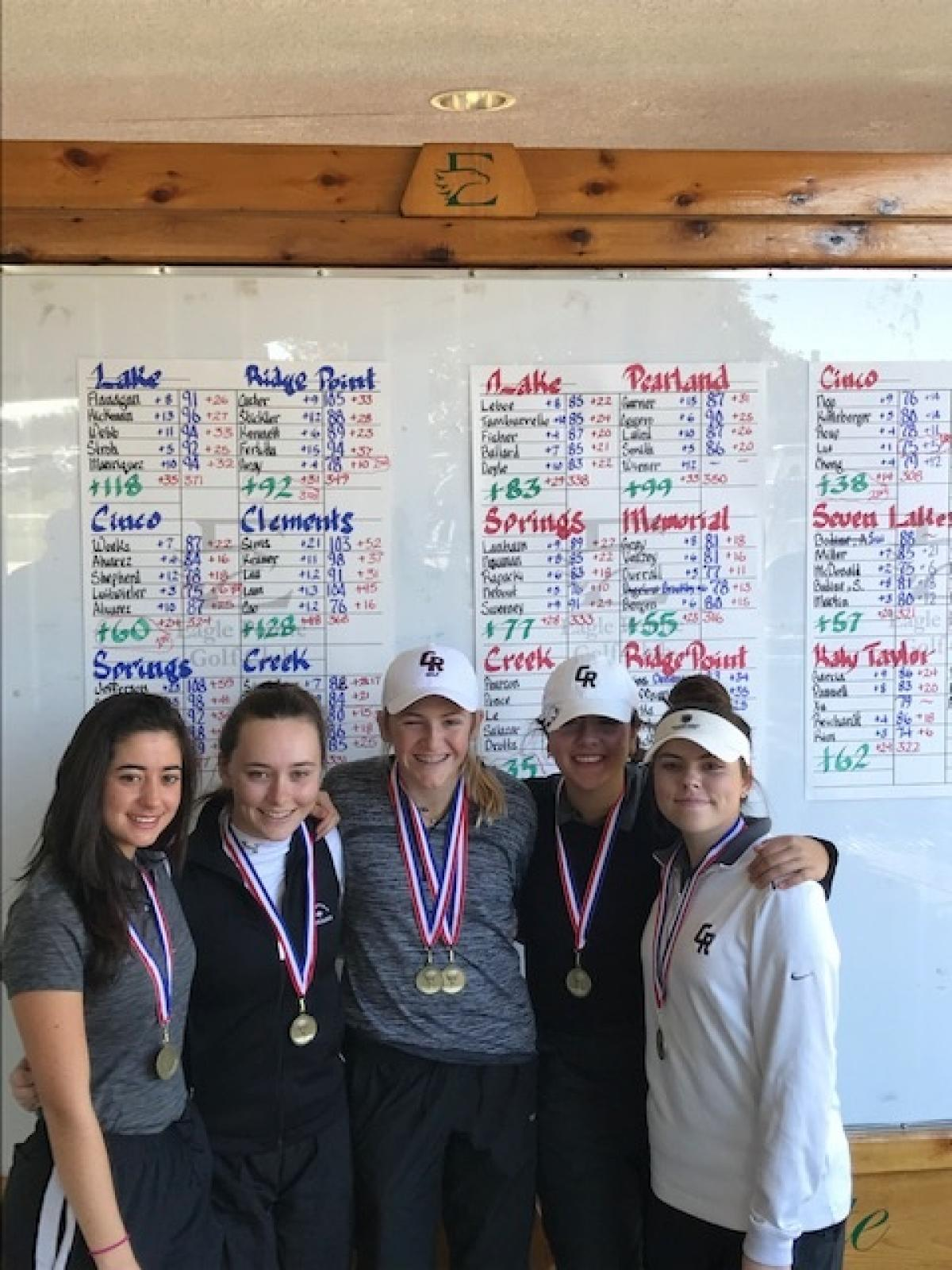 Girls get 1st, Boys 2nd at Eagle Pointe